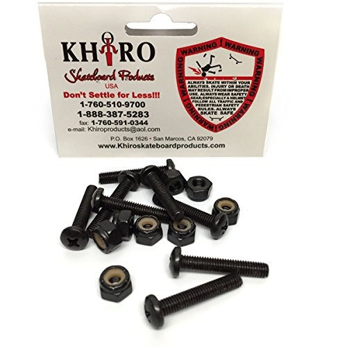 KHIRO PANHEAD HARDWARE 2'' PHILLIPS single set by Khiro Skateboard Accessories