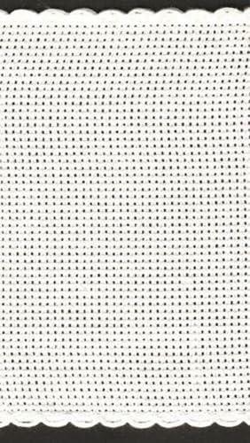 10,2/cm//10/cm de large bande de Aida /Dor/é Bordure / 14/fils