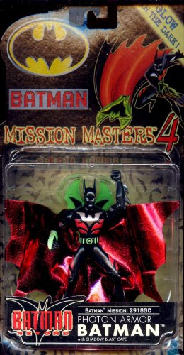 Batman Mission Masters 4 Photon Armor Batman Beyond with Shadow Blast Cape