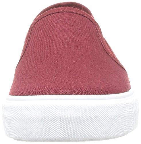 Calego da Sneakers rouge Unisex Rosso Burdeos Lona On Adulto Slip 7wqxZ7O