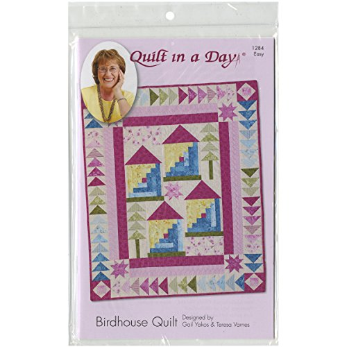 Eleanor Burns Patterns-Birdhouse Quilt Pattern by Quilt in a Day (Geese A Quilt Ruler In Flying Day)