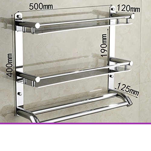 Stainless steel bathroom shelf /Bathroom accessories the bathroom tray/ shower gel bottle storage rack-F durable modeling