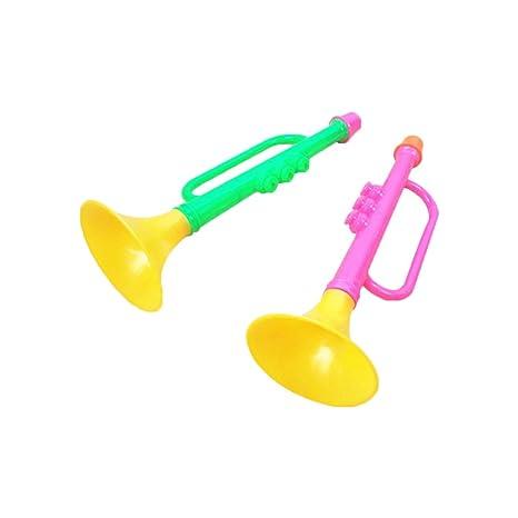 Hosaire 1x Deporte Partido Atrezzo plástico Cuerno de la Trompeta de ...