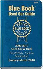 Blue book value of my car
