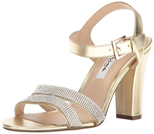 Sandale En Or My- Douce Robe Sylvie Femmes Nina