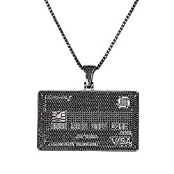 Gold Plated Debit Card Pendant Chain