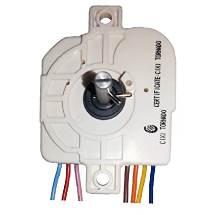 Buy doctorspare Plastic Washing Machine Timer with 7 wire/15 minutes for  Whirlpool, White Online at Low Prices in India - Amazon.in | Whirlpool Washing Machine Timer Wiring Diagram |  | Amazon.in