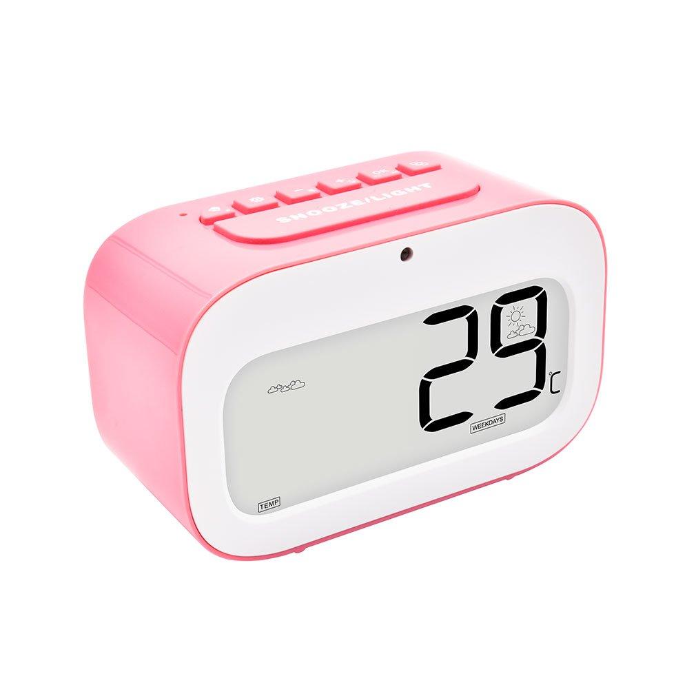 Alarm Clocks Led Alarm Clock Dynamic Emoji Large Led Display Electronic Snooze Smart Backlinght Desktop Digital Table Clocks Latest Fashion