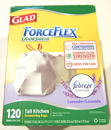 glad-forceflex-tall-kitchen-13-gallon-trash-bag-with-odor-shield-lavender-120-count