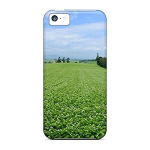 New Tpu Hard Case Premium Iphone 5c Skin Case Cover(hokkaido Lscape 32 Hq)