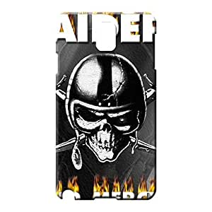 samsung note 3 Heavy-duty High Quality Durable phone Cases cell phone carrying shells oakland raiders nfl football