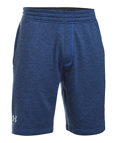 Under Armour Men's Tech Terry Shorts, Blue Marker (789)/Silver, Small by Under Armour (Image #3)