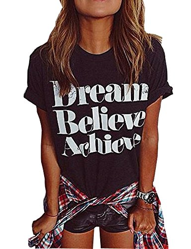 Womens Printed t Shirts Funny Street Juniors Tees Short Sleeve Tops