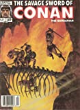 img - for The Savage Sword of Conan The Barbarian (September 1986) (Volume 1 Number 128) book / textbook / text book