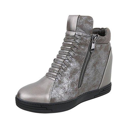 Compens Chaussures et Bottes bottines femme XvwwInqxz
