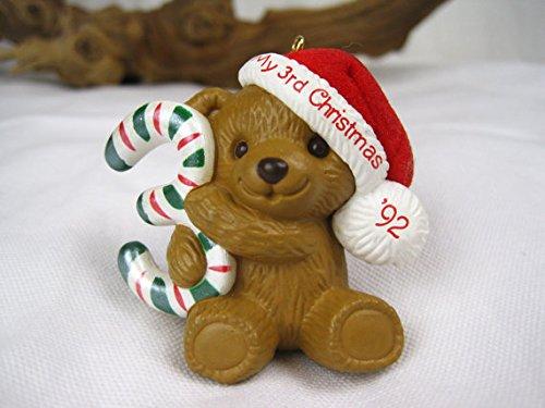 Hallmark Childs Third Christmas Ornament - Hallmark Keepsake Ornaments Child's Third Christmas 1992