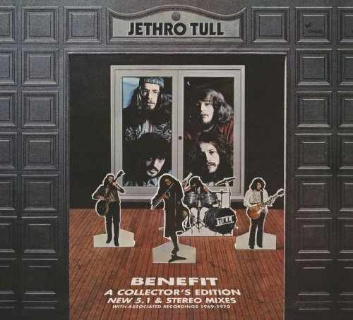 CD : Jethro Tull - Benefit (With DVD, Deluxe Edition, 3 Disc)