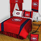 NHL Montreal Canadiens King Bedding Set Hockey Logo Bed
