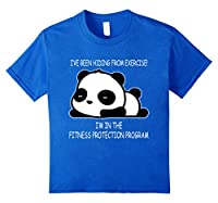 I've Been Hiding From Exercise Chubby Panda Lover Tshirt
