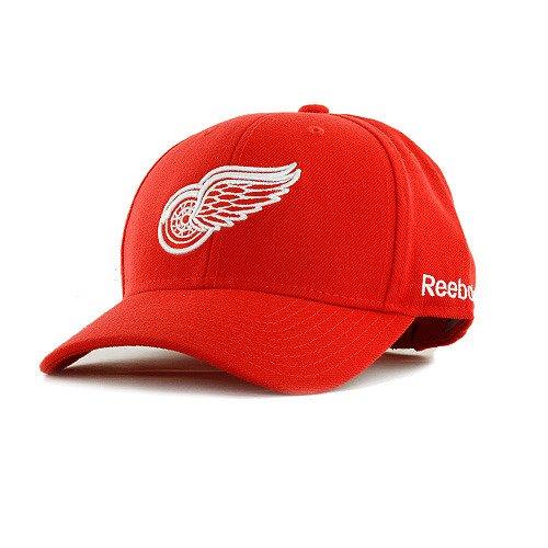 Detroit Red Wings Red BL Team Logo Wool Blend Adjustable Hat