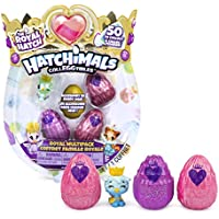 Hatchimals Colleggtibles, Royal Multipack with 4 & Accessories for Kids Aged 5 & Up