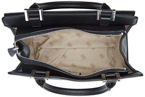 Guess Damen Hwbk6792060 Shopper, Schwarz (Nero), 13x29x43 cm