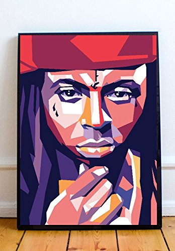 Lil Wayne Merchandise - Lil Wayne Limited Poster Artwork - Professional Wall Art Merchandise (More Sizes Available) (11x14)