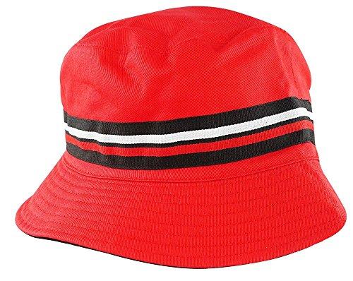 b74dd1d2dec Fila Men s Heritage Basic Comfort Bucket Hat L XL RED