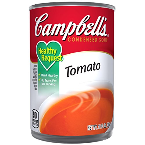 Campbell's Condensed Healthy Request Tomato Soup, 10.75 oz. Can (Pack of 12) ()