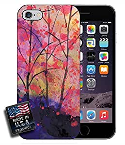 Watercolor Trees Painting iPhone 6 Hard Case