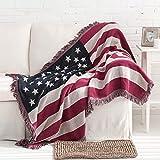 bbpawing American Country Retro British Style Blanket Sofa Towel Dustproof Sofa Cover