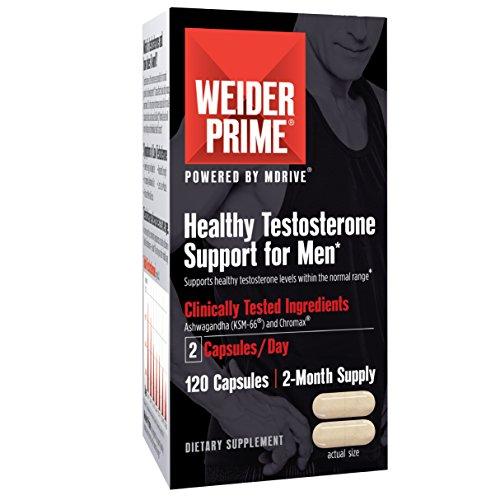 Weider Prime Testosterone Support Black