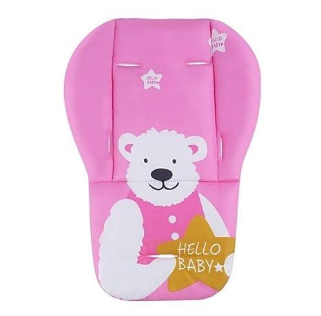 Amazon.com: Cojín suave para cochecito de bebé, para niños ...