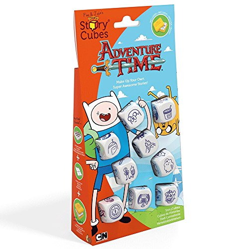 Creativity Hub Rorys Store Cubes: Adventure Time Dice Game Set