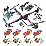 Hobbypower X525 4-axis QuadCopter GF Folding Kit ARF MWC SE Flight Controller SimonK 30A