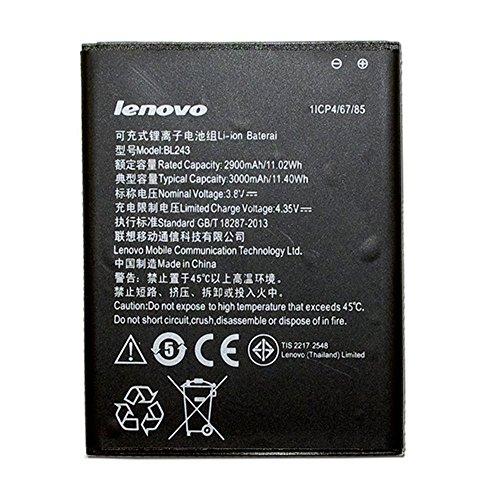 CBK New 3000mAh 3.8V BL243 Battery for Lenovo K3 Note K50-T5 A7000 by CBK