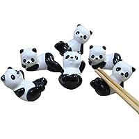 hugestore 6pcs chinos de osos Panda patrón