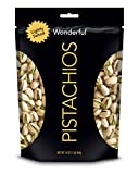 Wonderful Pistachios, Lightly Salted, 16 oz Pouch
