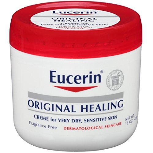 Eucerin Original Healing Creme 16 oz (Pack of 8) by Eucerin