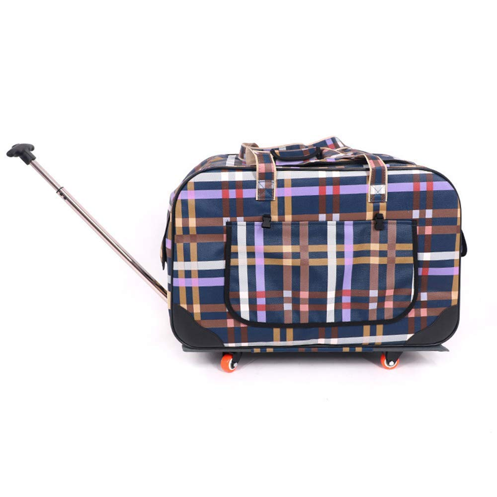 Burst NKLD Pet Accessories-Pet Travel Carrier, Pet Bag Trolley, Foldable Four-Wheeled Trolley, Suitable For Hiking Camping For Cats And Dogs,Burst