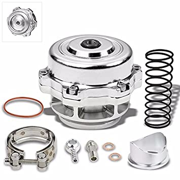 Universal Billet Aluminio 50 mm Blow Off Valve BOV para Turbo/Intercooler 35 PSI Boost: Amazon.es: Coche y moto