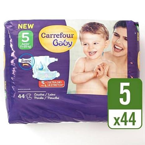 Carrefour bebé Ultra Dry tamaño 5 paquete de pañales esenciales 44 ...