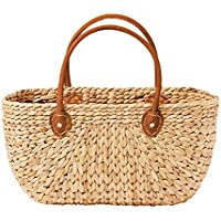 Salisbury & Co Province Carry Basket w/Suede Handles Large