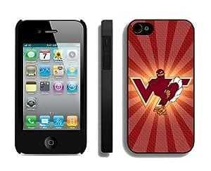 Cheap Case for Apple Iphone 4s Ncaa Virginia Tech Hokies 8 Best Iphone 4 Accessories