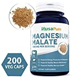 Best Magnesium Malates - Best Magnesium Malate 1350mg 200 Capsules Review