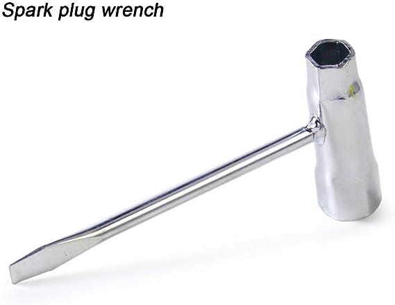 1 llave de bujía con mango en T, 13 mm-19 mm, bujía de encendido ...