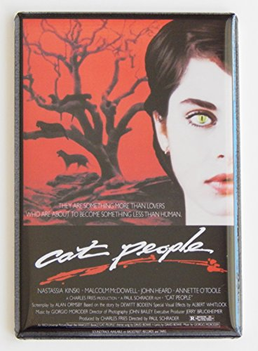 Cat People (1982) Movie Poster Fridge Magnet (2