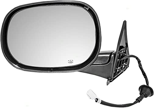 Drivers Power Side View Mirror Heated Replacement for Dodge Pickup Truck 55076489AG AutoAndArt