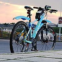 ELYQBDL MTB Fender Bicicleta con LED de la luz Posterior de Las ...