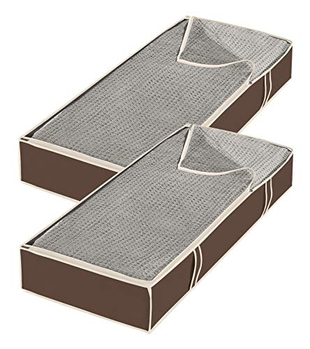 Whitmor Zippered Underbed Bags